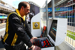 Vitaly Petrov, Renault F1 Team time board