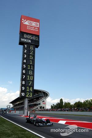 Circuit de Catalunya near Barcelona is ready for F1