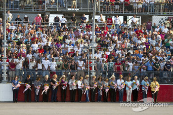 The NASCAR Sprint Cup moms announce Gentlemen, start your engines