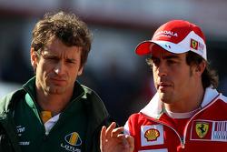 Jarno Trulli, Lotus F1 Team, Fernando Alonso, Scuderia Ferrari