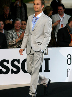 Amber Lounge Fashion Show, Nico Rosberg, Mercedes GP