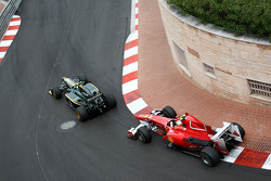 Heikki Kovalainen, Lotus F1 Team, Fernando Alonso, Scuderia Ferrari