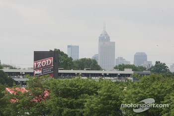 The Indianapolis skyline