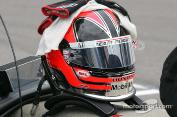 Helmet for Helio Castroneves, Team Penske