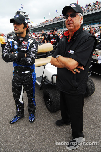 Raphael Matos, deFerran Dragon Racing and Rick Mears