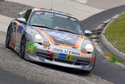 #234 Porsche 996: Jörg Wiskirchen, Carsten Welschar, Jens Riemer
