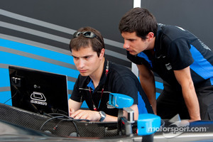Ocean Racing Technology engineers at work