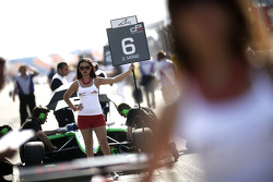 The Grid girl of Daniel Morad