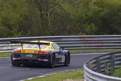 #2 Team Abt Sportsline Audi R8: Christian Abt, Emmanuel Collard, Lucas Luhr, Christopher Mies