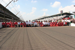 Target Chip Ganassi Racing prepare to kiss the bricks