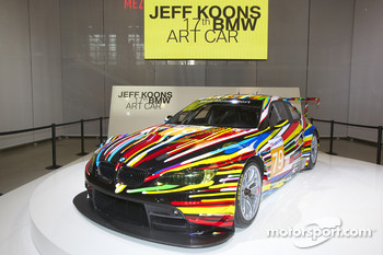 BMW Art Car presentation, Pompidou Center, Paris: the 17th BMW art car