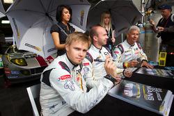 Markus Palttala, Eric De Doncker and Bas Leinders