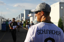Michael Schumacher, Mercedes GP supporting German football team