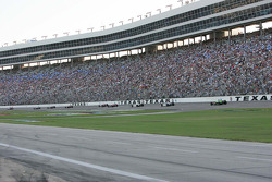 Pace laps for the Firestone 550K at Texas Motor Speedway
