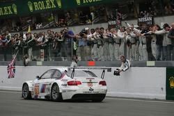 #78 BMW Motorsport BMW M3: Jörg Müller, Augusto Farfus, Uwe Alzen finishes the race