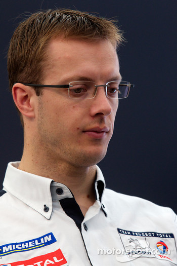 Team Peugeot press conference: Sébastien Bourdais