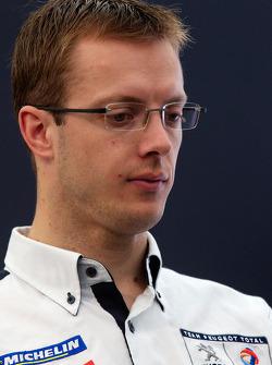 Team Peugeot press conference: Sébastien Bourdais