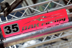Oak Racing pit sign