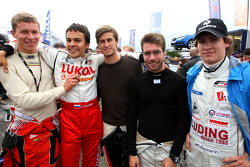 Kazim Vasiliauskas, Sergey Afanasiev, Nicola de Marco, Philipp Eng and Ivan Samarin