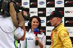 Race winner Benjamin Bailly