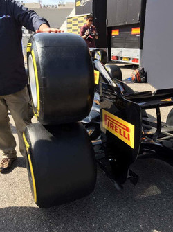 Pirelli-Reifen, Detail