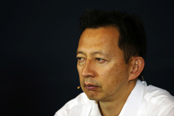 Yusuke Hasegawa, Head of Honda F1 Programme in the FIA Press Conference