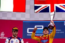 Podium: winner Jordan King, Racing Engineering