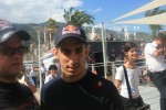 Sebastien Buemi doing autographs