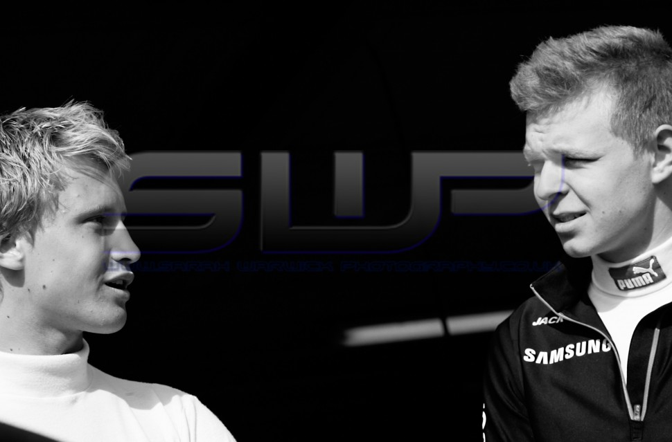 Rupert Svendsen-Cook & Kevin Magnussen