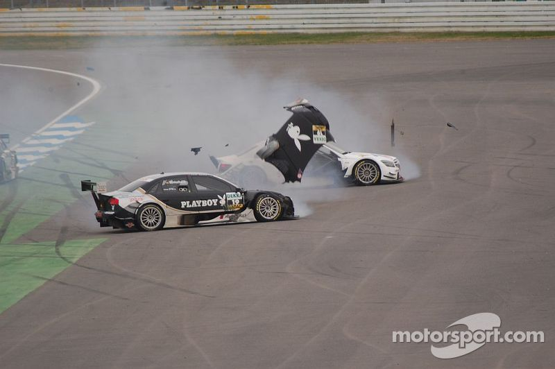Markus Winkelhock and Susie Stoddart get together, DTM Hockenheimring II 2008
