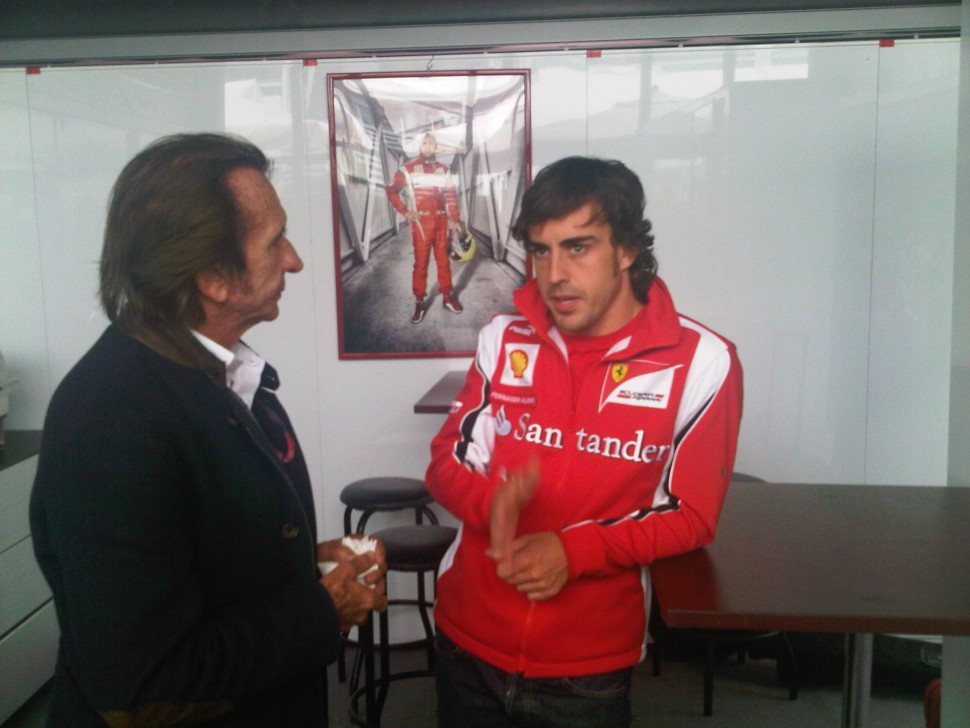 Fittipaldi and Alonso