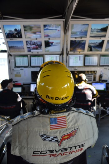 Corvette mission control - Petit Le Mans