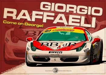 Giorgio Raffaeli - Ferrari Challenge 2012