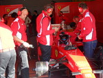 Vallelunga Ferrari Driver Academy 2012 test