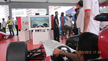 The F1 simulator!