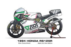 Honda RS125R – 1994 Fausto Gresini