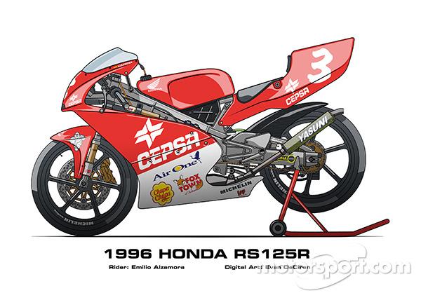Honda RS125R - 1996 Emilio Alzamora