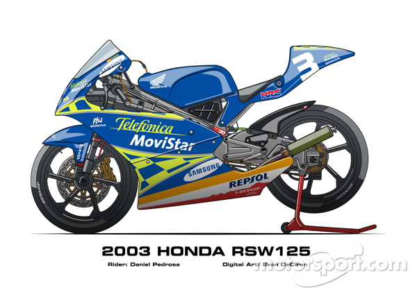 Honda RSW125 - 2003 Daniel Pedrosa