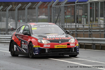 Marc Hynes - Triple Eight MG - BTCC - Oulton Park - Feb 14