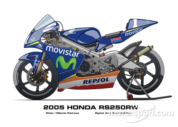 Honda RS250RW - 2005 Daniel Pedrosa