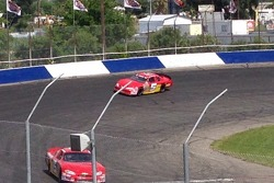 Cameron Millard & Thomas Martin on track