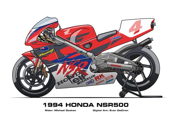 Honda NSR500 - 1994 Michael Doohan