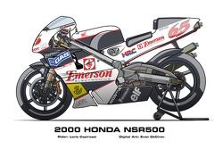 Honda NSR500 - 2000 Loris Capirossi