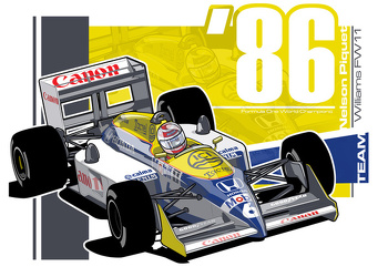NELSON PIQUET - F1 1986 TRIBUTE