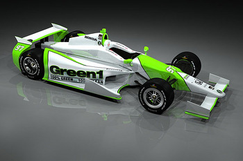 Bryan Herta Autsosports Green1 Car