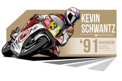 Kevin Schwantz - 1991 Hockenheim