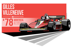 Gilles Villeneuve - 1978 Montreal
