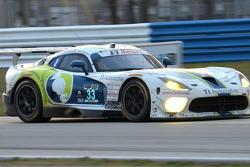 Viper turn 10, race day at dusk