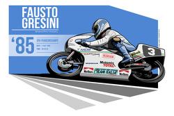 Fausto Gresini - 1985 Spa
