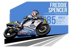 Freddie Spencer - 1985 Mugello